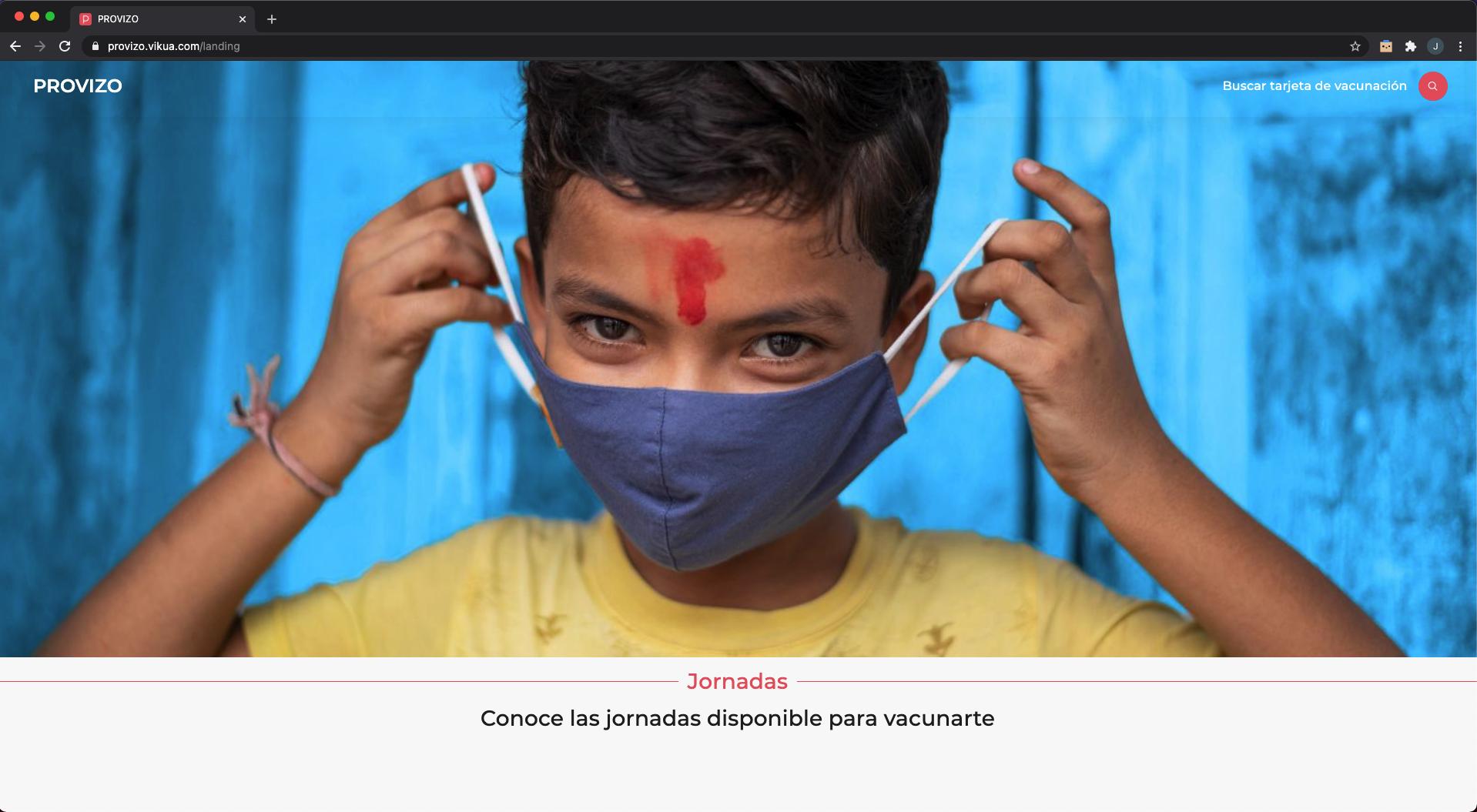 Organiza y <br> publica Jornadas de Vacunación